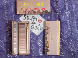 Wholesale 2014 New packaging NK3 without Primer Eye shadow Makeup colors eyeshadow palette Free DHL Shipping