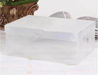 clothes box storage - Household Men Transparent Clear Shoe Storage Organizer Box Shoes Case