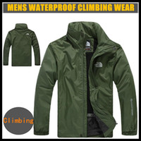 Wholesale 2014 winter waterproof outdoor jacket men jackets and coats custom varsity jackets outdoors climbing hiking coat XL available