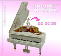 Wholesale Creative commodity music box Piano ballet music box birthday gift marriage gift