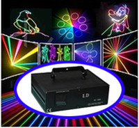 Wholesale 3500mW W w optional Pro Kpps RGB full color Animation DMX512 ILDA DJ Party Disco Club Bar Professional Stage Laser Lighting dj light