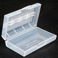 Wholesale 50pcs Battery Storage Box Case White for CR123A A batteries