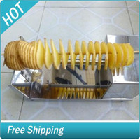 Wholesale new manual Tornado potato machine potato spiral cutting machine potato cutter machine potato chips