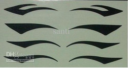 Wholesale 4000pairs moky Eyes Sticker black eyeliner Eye Tattoo sticker Eye liner Sticker Shadow Sticker