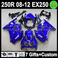 7gifts For Kawasaki Factory blue Ninja 250R EX250 EX 250 08 ...