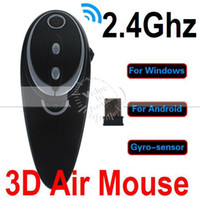 Wholesale good Stylish A6 Ghz Wireless D Flying Air Mouse Gyro sensor Game Mice Remote Controller for Smart TV Android TV Box Computer