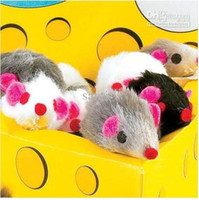 Wholesale Brand New Hot Sale Bright Coloured Little Funny Mouse Toys For Pets Furry Mice Lovely