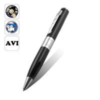 Wholesale 720 Pen Camera DVR Audio Video Mini Hidden Camera Recorder Silver New pc