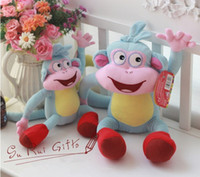 Wholesale New High Quality Soft Plush Dora the Explorer BOOTS The Monkey Plush Dolls Toy New L