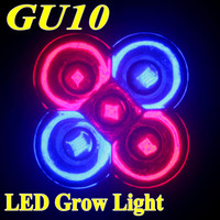 Wholesale 15w LED Grow light GU10 red Blue LED Plant Lighting for flowering plant and hydroponics system AC85 V