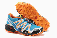 Wholesale Hot EUR USA Salomon Men and women Running shoes Salomon Walking Cross Country Mountaineering Slip