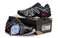 Wholesale Hot New Salomon Men and women Running shoes Salomon Walking Cross Country Mountaineering Slip