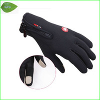 Wholesale FT P01 Windstopper outdoor skiing full finger gloves Cycling gloves Touch screen gloves Mountaineering Glove