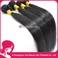 Wholesale Retail price A Brazilian virgin hair straight Virgin human hair weave extensions
