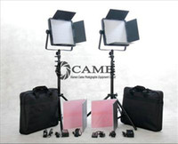 Cheap Free Bag 2 x 1200LED Camera Video Panel Light Film TV Lighting with Cable Dimmer