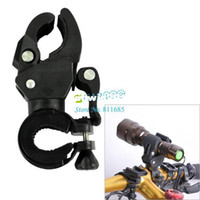 Wholesale 2013 New Bicycle Bike Cycling Handlebar Multifunction Mount Holder For Flashlight LED Light Torch Clip