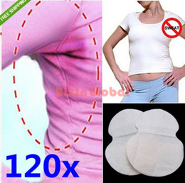 Wholesale 120 X New Underarm Sweat Guard Deodorants Absorbing Pad Armpit Sheet Liner Dress Clothing Shield Hot Sell