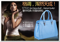 Wholesale Carnival Lady Bags Crocodile Texture Elegant Top Fashion Hand Bags Shoulder Bags colors for women
