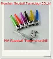 Electronic Cigarette Atomizer 6 colors for mixing 2014 best seller GS-H2 SM30 Atomizer 2ml Clear Clearomizer for eGo Electronic Cigarette from professional factory Offer churchill