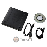 Wholesale Black USB External DVD Combo CD RW CDRW Burner Drive DVD ROM CD ROM XA