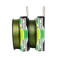 Wholesale yards LB10LB15LB20LB30LB40LB50LB65LB80LB100LB grass green braid fishing line dyneema