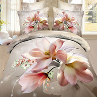 Wholesale china brand new d bedding set queen size comforter duvet quilt cover bedsheets and pillowcases sets Queen size bedclothes Cotton