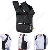 Wholesale Anti Theft Hidden Underarm Shoulder bag man Holster Black Nylon Multifunction Redalex Inspector Shoulder Bag Agent Bond Bag