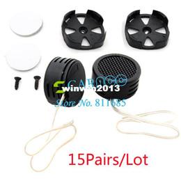 Wholesale 15Pair Steel Net Black Tweeter High Pitch Loudspeaker X W Super Power Dome Loud Speaker Tweeter For Car TK0691
