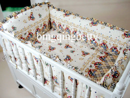 Wholesale 100 Cotton Baby Crib Set Comfortable Baby Bedding Crib Sets Unpick Cute Baby Bed Sets