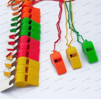 Wholesale LLFA4164 Colorful Whistle Dynamic Atmosphere Whistles Referee Special Kids Toys Cheerleading Accs