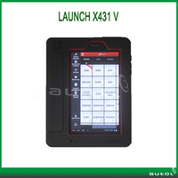 Wholesale New Arrival Launch X431 V Super Auto Diagnostic tool X V Multi language Wireless WIFI Bluetooth Communication one Years Warranty