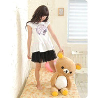 Bear Brown Plush S5Q Big Relax Bear Soft Pillow Plush Doll PP Cotton Stuffed Fluffy Animal Toy Gifts AAACBX