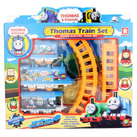 Wholesale 20pcs train Track set Electric orbit path children toys Perfect gift