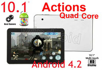 10 inch action stores - 10 Inch A23 Actions Quad Core Boxchip RAM GB ROM GB DDR MID Tablet pc Dual Camera Wifi HDMI Google store Skype DHL pc
