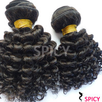 Malaysian Hair Kinky curly 100% Virgin Human Hair Malaysian Virgin Hair 3pcs Hair Bundles Unprocessed Human Virgin Hair Extension kinky curly DHL Free Shipping