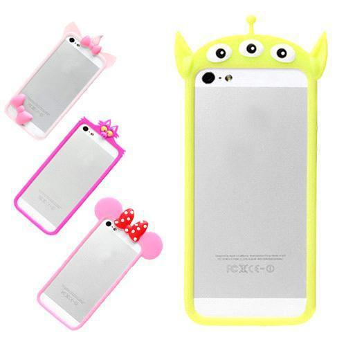 Buy S5Q Cute Cartoon Silicone Soft Case Cover iPhone 5 5S AAACKO