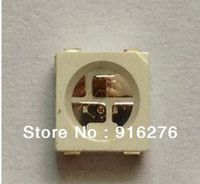 Wholesale WS2812B built in SMD RGB LED pins chip Addressable Dream Color DC V