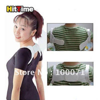 Back   Wholesale - Back Posture Brace Corrector Shoulder Support Band Belt [6591|01|01]