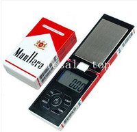 Pocket Scale <50g  100g x 0.01g Digital Pocket Scale 0.01 gram - Cigar Pack - Precision novelty Scales