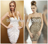 Wholesale Full Beaded off shoulder sexy hot sale sexy semi formal dresses New Fashion Homecoming DRESS HD011