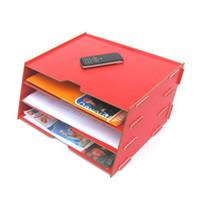 Wholesale FreeShipping Magazine storage rack a4 data rack file holder finishing frame b3012