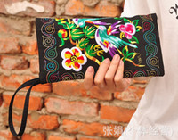 Wallets hmong - Ethnic Hmong embroidery bag clutch purse cm
