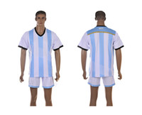 Wholesale Argentina national team Home jersey World Cup kit red football jersey Mix order