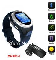 GSM850 Single Core No Smartphone 1.5 inch Watch phone GSM850 900 1800 1900 Support WAP,GPRS Bluetooth Wrist mobile Phone Watch Phone Touch Screen MP3 MP4  FM 1.3M Spy Camera