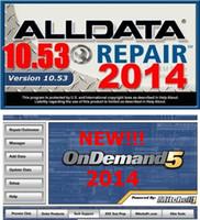 Update Software & Repair Software auto repair chevy - Best quality All data v10 Mitchell on demand alldata auto repair software with GB HDD price F