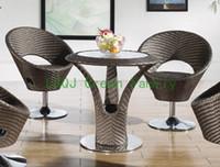bar stools - outdoor rattan bar furniture bar stool and bar counter