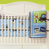 Wholesale Baby bedding set piece set baby quilt bed around fitted summer baby bedding ch36