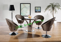 Wholesale rattan home bar furniture bar stool and bar counter