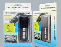 Wholesale Car Handsfree Bluetooth Speakerphone Speaker for Samsung S4 I9500 NOTE Apple iPhone S Nokia HTC