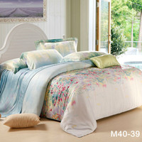 Wholesale 800TC Tencel Fabric King Queen size Fast shipping beding set luxury unique Duvet quilt covers bedlinen bed sheet sets